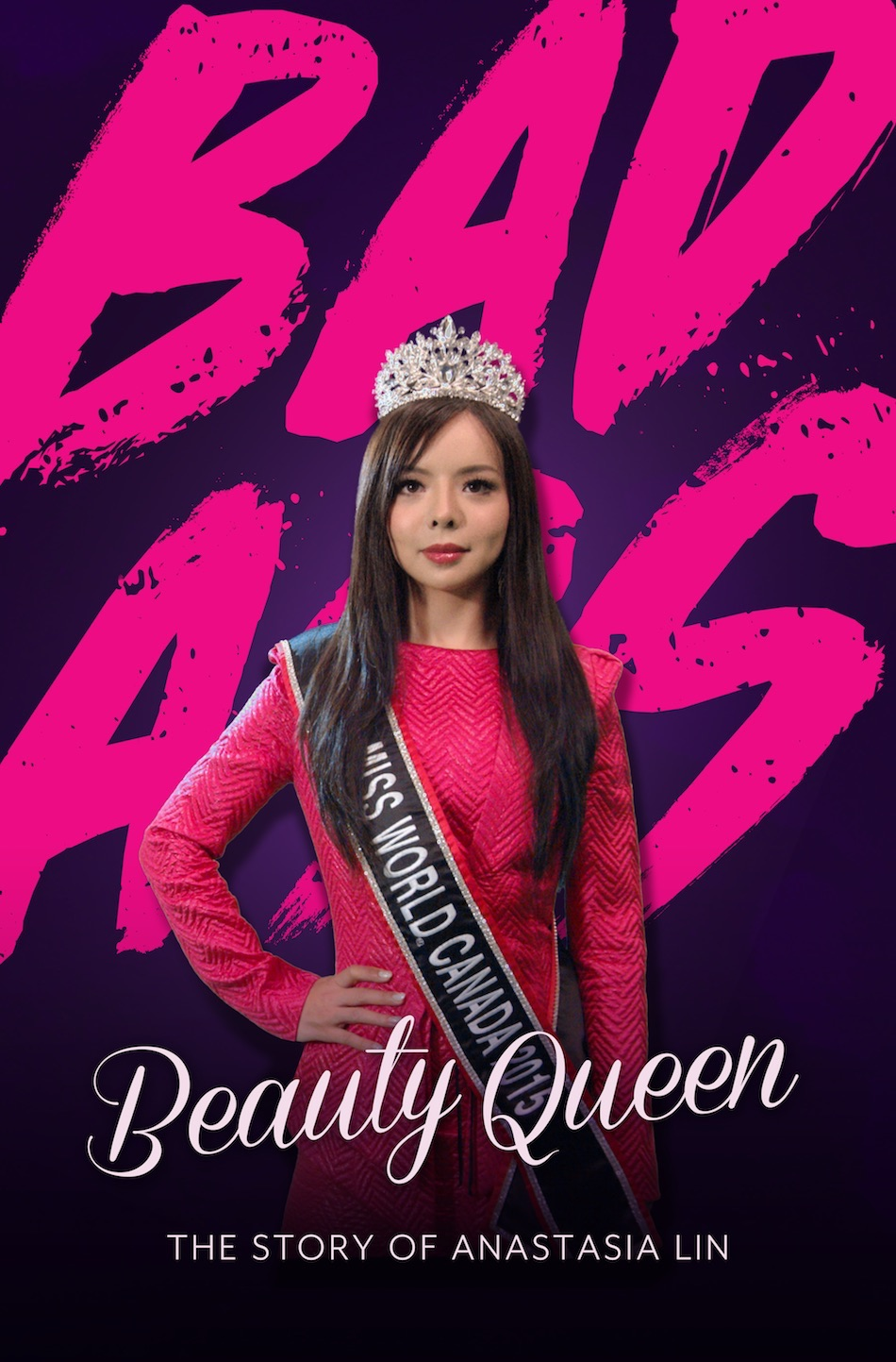 Badass Beauty Queen Poster. (Image via media kit Badass Beauty Queen Film)