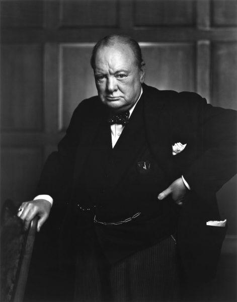 Sir Winston Churchill, December 30, 1941. (Image: via flickr BiblioArchives / Library CC BY 2.0 )