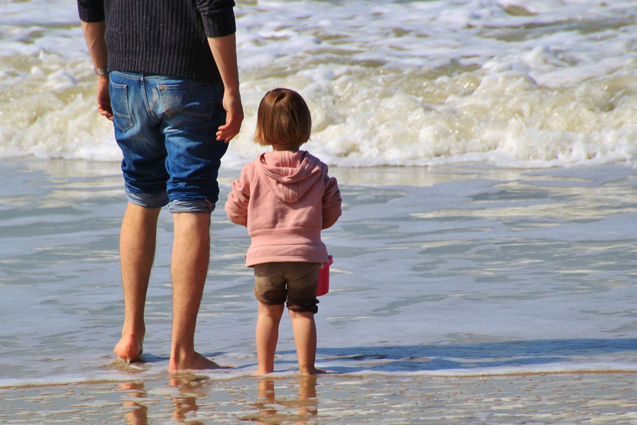 Psychological studies show that a child's accomplishment is affected greatly by the father-child relationship. (Image: pixabay / CC0 1.0)