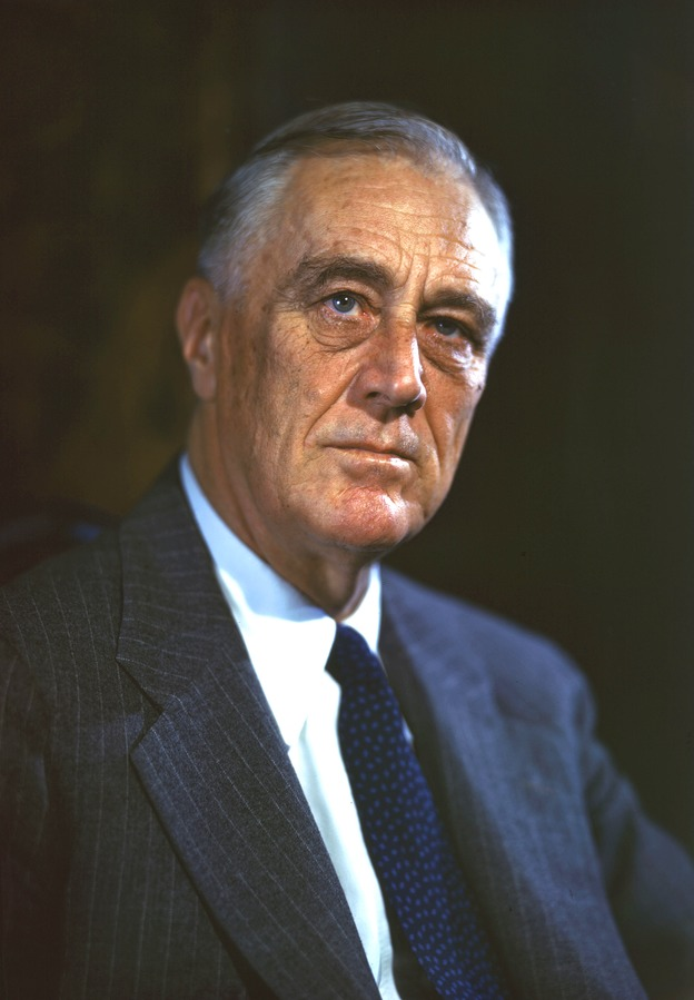 Franklin Delano Roosevelt, August 21, 1944. (Image: Franklin D. Roosevelt Presidential Library and Museum via flickr CC BY 2.0 )