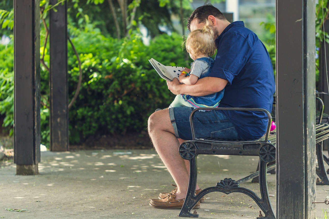 According to one study, a child's intelligence depends largely on their relationship and bonding (or lack thereof) with their father.