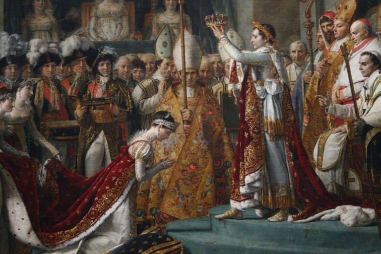 David, Detail of the Coronation of Napoleon. (Image: bongo vongo via flickr CC BY-SA 2.0)