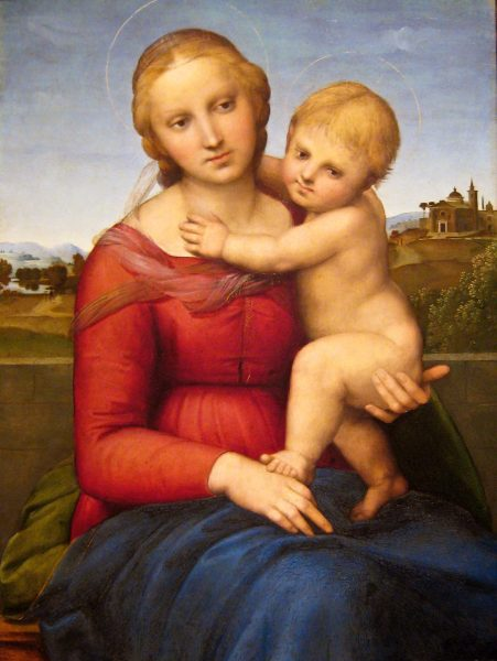 Raphael, The Small Cowper Madonna (Image: Sharon Mollerus via flickr CC BY 2.0 )