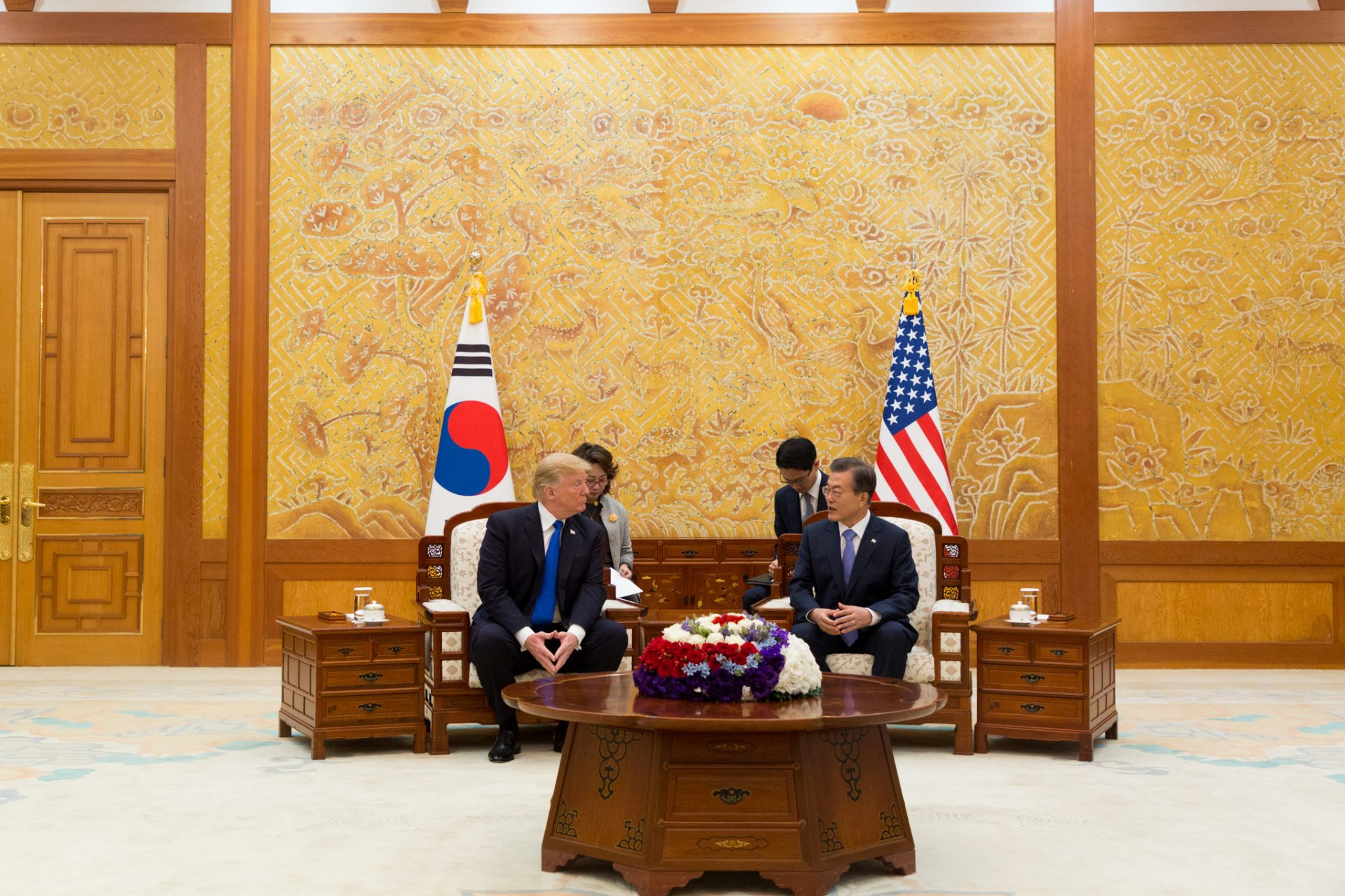 South Korea planned their state dinner so it would tailor to Trump's tastes while exhibiting Korean features and demonstrating that the ties between South Korea and the United States are strong. (Image: pixabay / CC0 1.0)