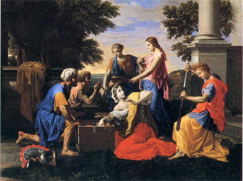 Poussin, Achilles and Daughters of Lycomede (Image: cea via flickr CC BY 2.0 )