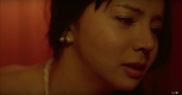 The Psyche of a woman tortured for her belief played by actress Anastasia Lin. (Image via Films For Freedom YouTube/Screenshot)
