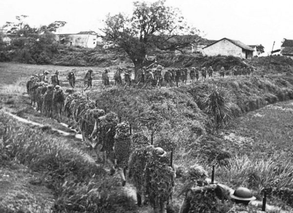 ROC soldiers marching to the front lines in 1939. (Image: via wikipedia / CC0 1.0)