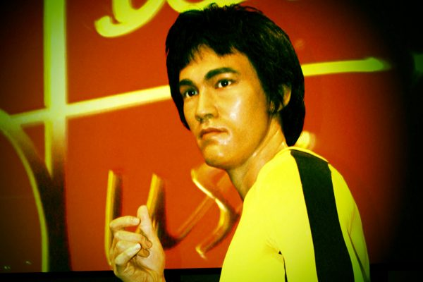 Bruce Lee on the set of Game of Death. (Image: Cristeen Quezon via flickr CC BY 2.0 )