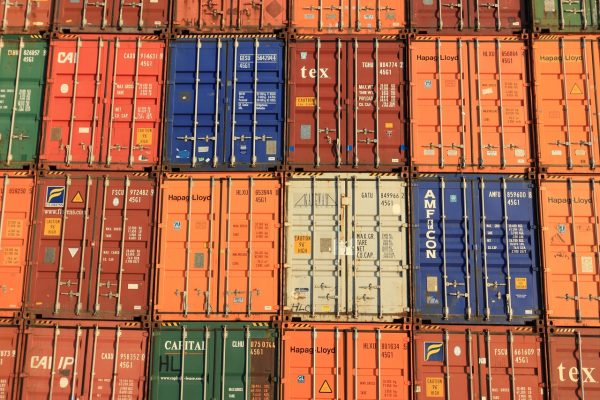 For decades, shipping containers have been loaded with recyclable material and dispatched to China for use in the production of paper, plastic, glass, and metal products and packaging. (Image: pixabay / CC0 1.0)