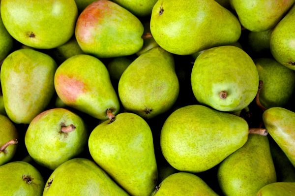Pears can help to clear the lungs and with coughing, but the energy nature of pear is cold, so it must be prepared differently for different people. (Image: pixabay / CC0 1.0)