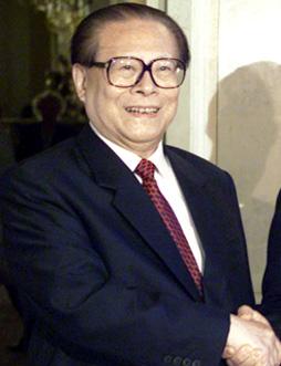 Jiang Zemin in June 2002. (Image: ASDFGH via wikimedia CC BY 4.0)