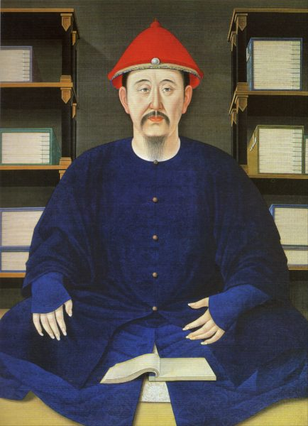 The Kangxi Emperor at the age of 45, painted in 1699. (Image: wikimedia / CC0 1.0)