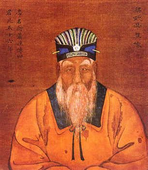 Emperor Wu of Liang during the end of his reign. (Image: wikimedia / CC0 1.0)