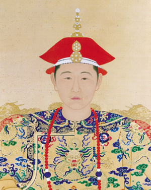Portrait of the young Kangxi Emperor in court dress. (Image: wikimedia / CC0 1.0)