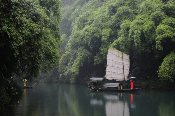 The boatman was actually a bandit. (Image via pixabay / CC0 1.0)
