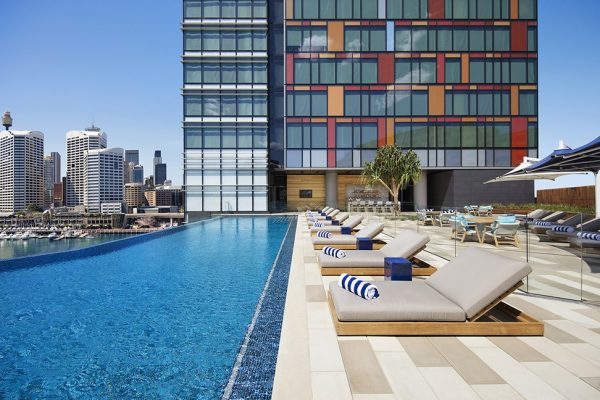 From a dip in the infinity pool to indulging in a drink at the Champagne Bar this hotel has everything covered when it comes to offering guests an unforgettable escape. (Image: Courtesy Sofitel Sydney Darling Harbour)