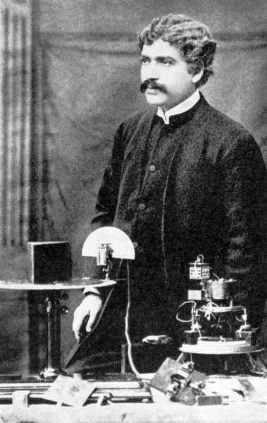 Backster isn't the only famous person who has delved into this subject. Prior to Backster, Sir Jagdish Chandra Bose, the Father of Modern Indian Science, conducted a comprehensive experiment to prove that plants can respond. (Image: via wikipedia / CC0 1.0)