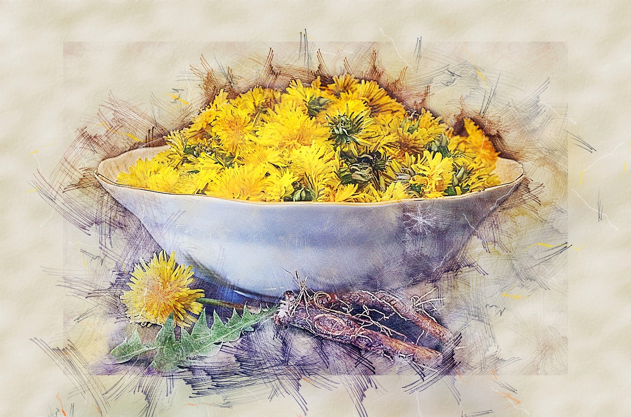Dandelions grow just about everywhere. Their yellow flower heads announce the arrival of spring and continue blooming into fall. (Image: pixabay / CC0 1.0)