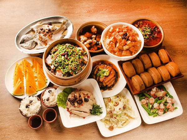 Jujube House Restaurant (棗莊古藝庭園膳坊) is a typical Hakka restaurant featuring Jujube cuisine in Taiwan. (Image: Courtesy of Jujube House Restaurant)
