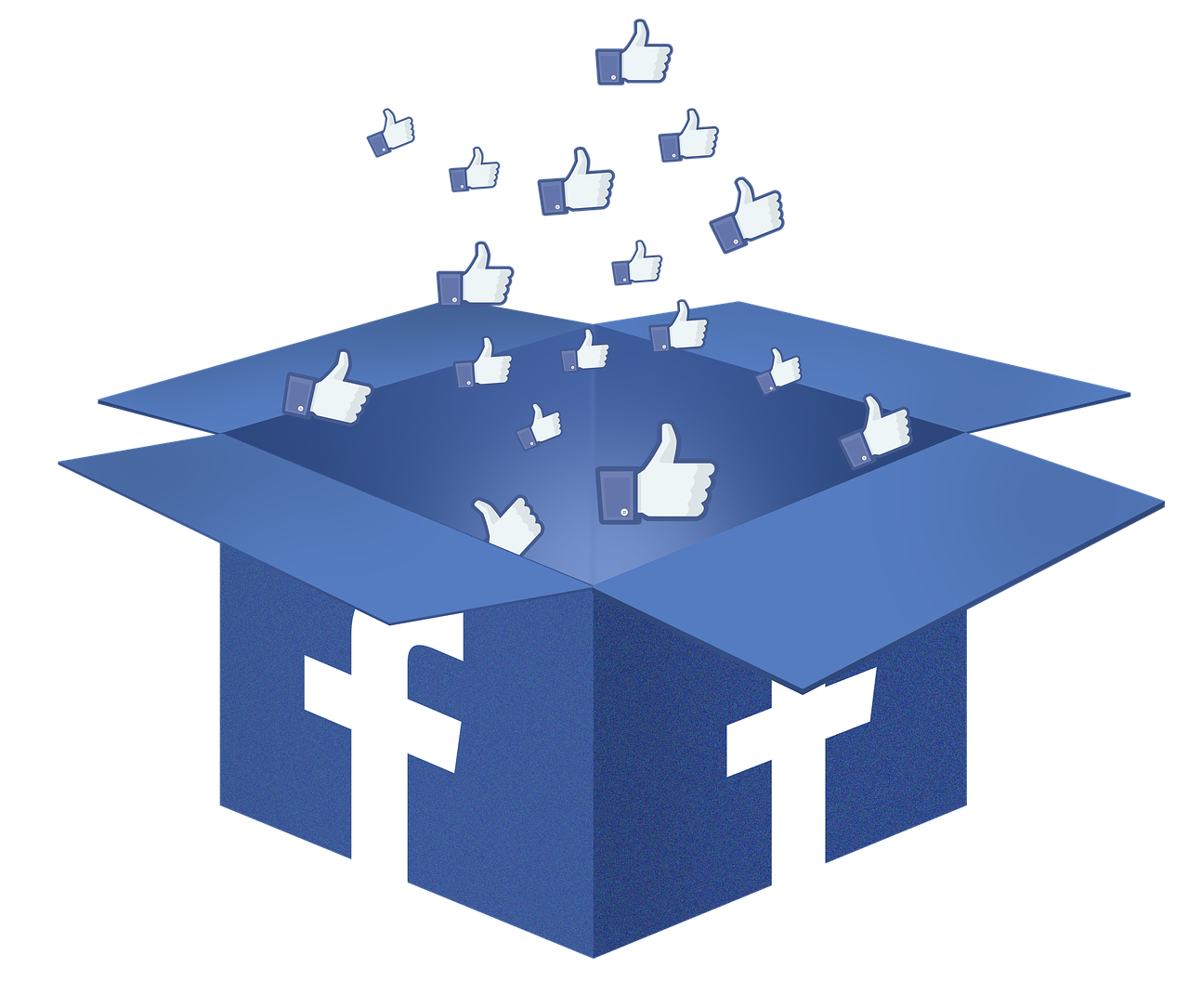 The data used from Facebook was not simply demographics; it also included behavioral data such as users' likes, comments, and the pages and causes users' support. (Image: via wikimedia CC BY-SA 3.0)