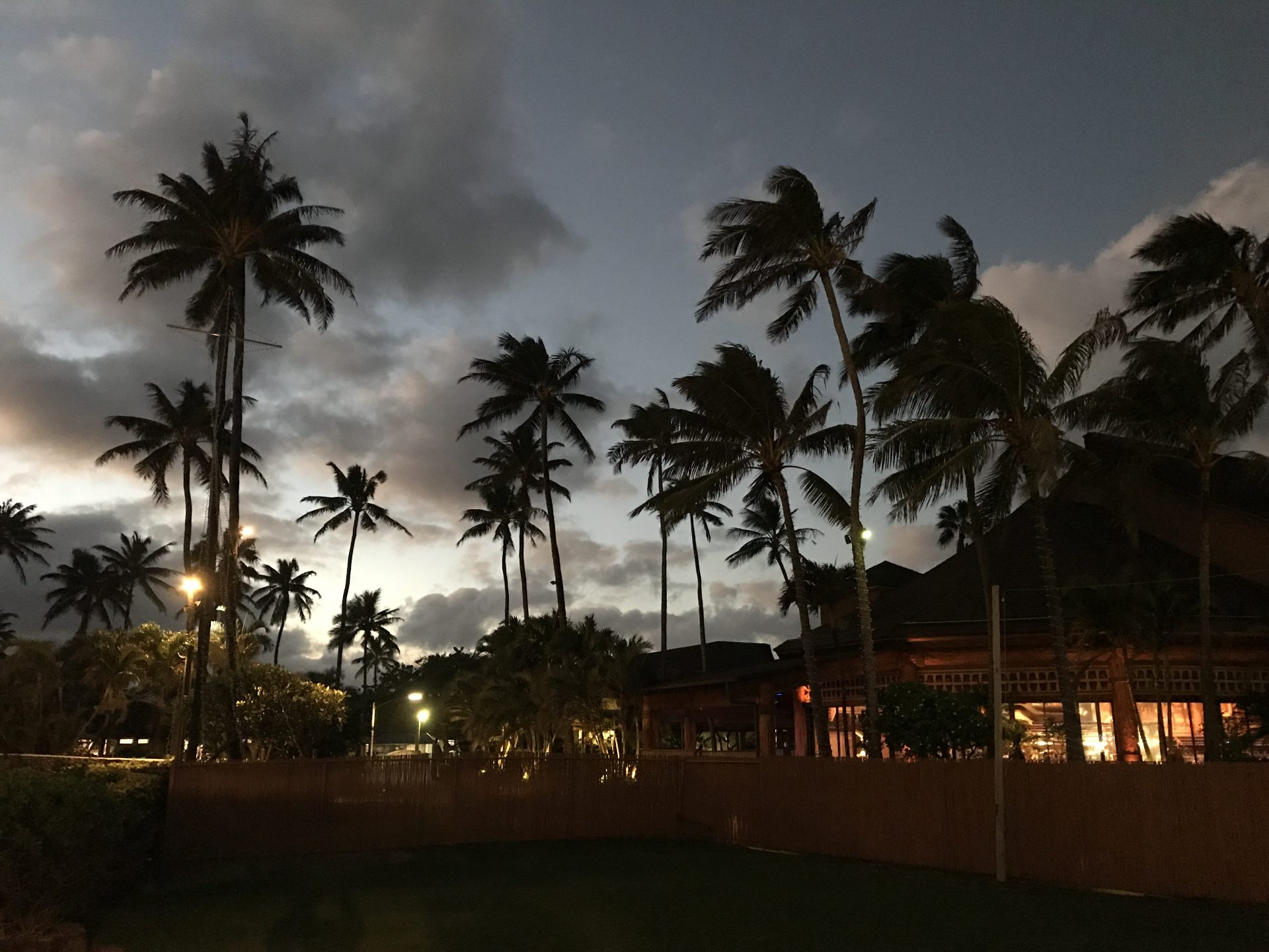 Sunset at the Polynesian Cultural Center. (Photo: Courtesy Laura Cozzolino)