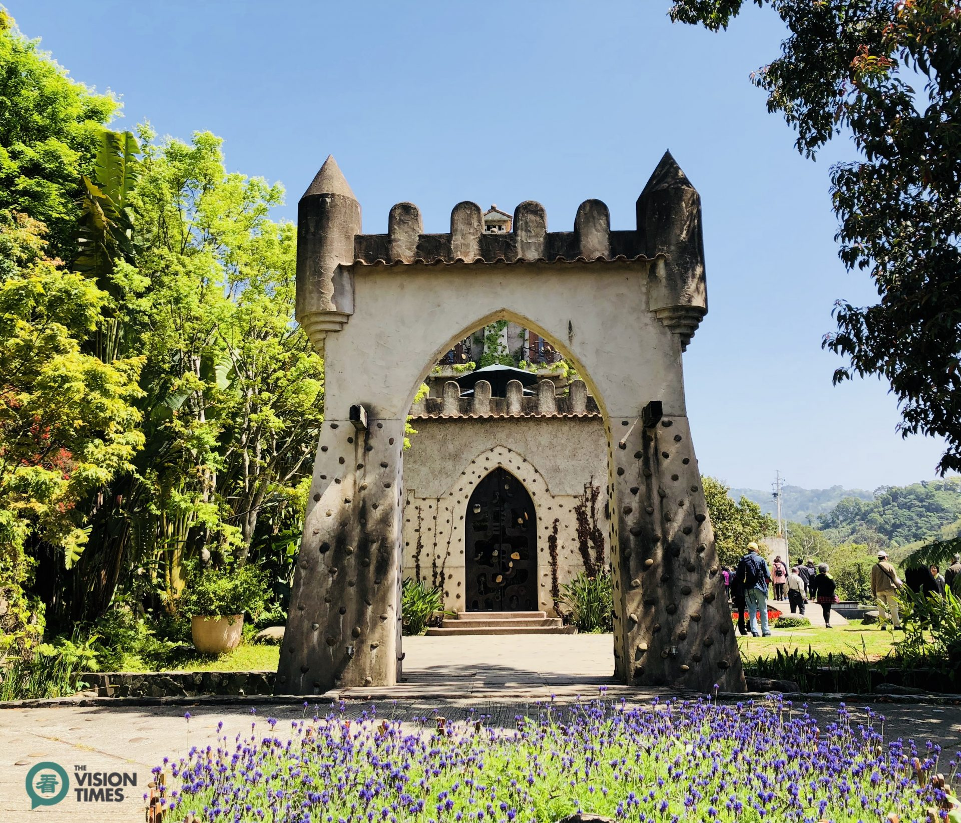 The entrance of Chateau in the Air (Image: Billy Shyu / Vision Times)