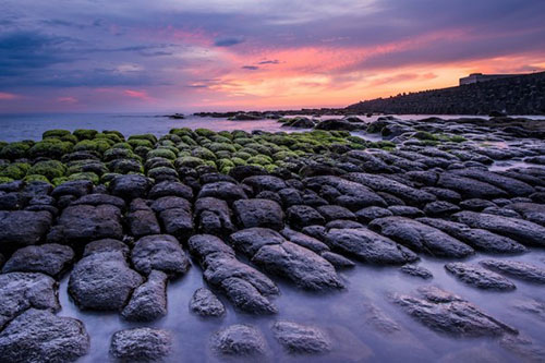 The amazing rock formations in Peace Island. (Image: Courtesy of Keelung City Government)