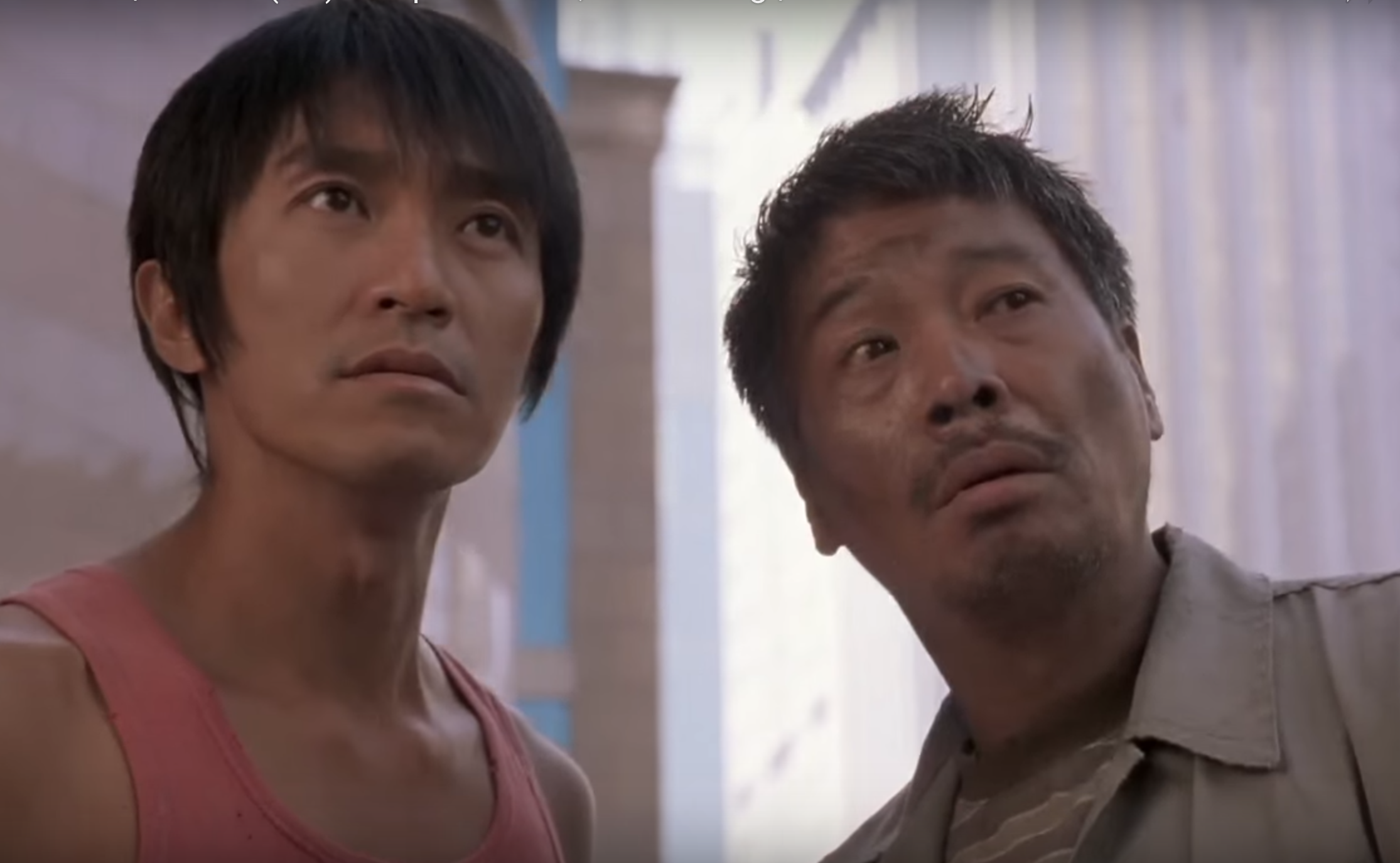 Stephen Chow and Ng Man-tat in the film Shaolin Soccer. (Image: YouTube/Screenshot)