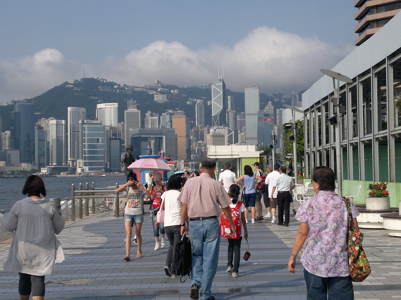Hong Kong's wealth gap has widened to a historic high. (Image via pixabay / CC0 1.0)