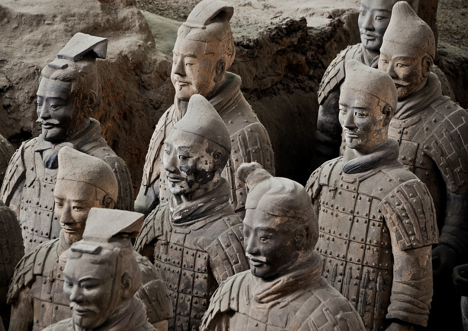 The theft of the ancient Chinese terracotta soldier's finger by a U.S. citizen has stirred up quite a debate. (Image: pixabay / CC0 1.0)