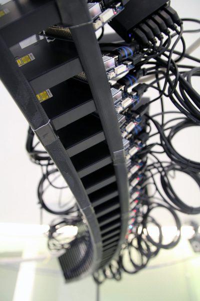 TeleHuman 2 Smart Projector Ring. Credit: Queen's University
