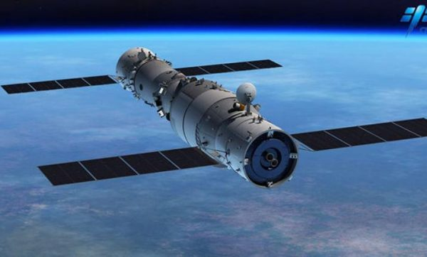 Tiangong-1 was made of two sections: a resource module that contained the solar-power and propulsion systems, and the experimental module for visiting astronauts and their work units. (Image: CMSE)