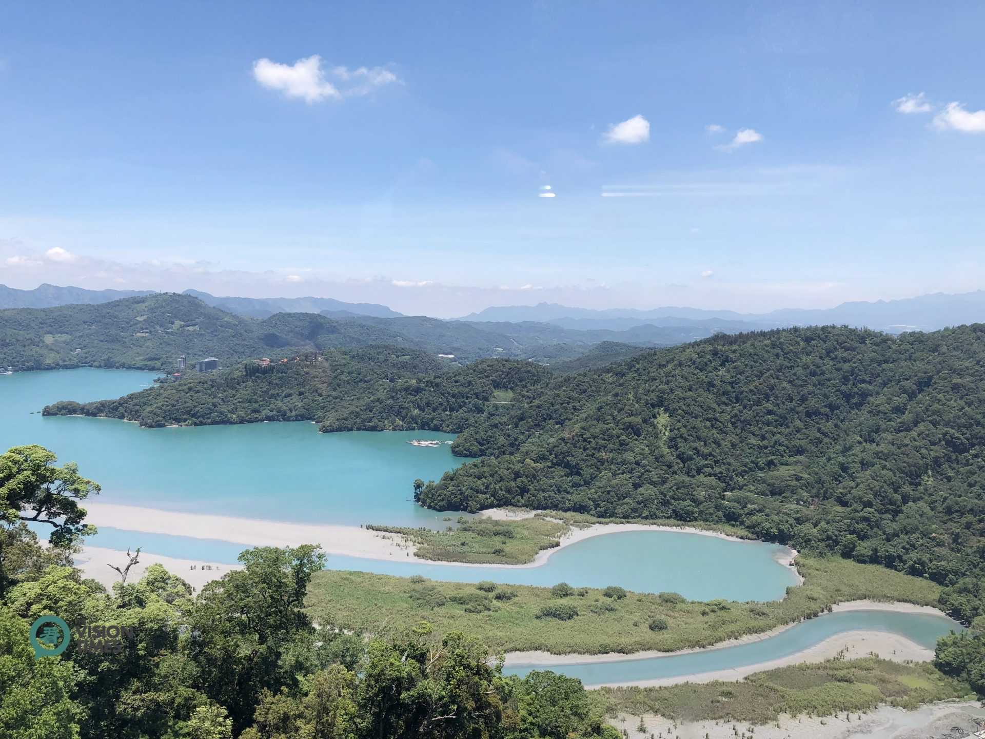 The Sun Moon Lake in central Taiwan. (Image: Billy Shyu / Vision Times)