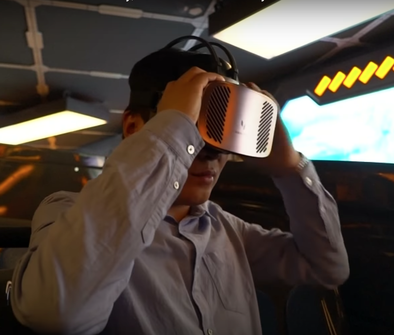 The makers of this park want to use VR and high technology to help develop the region of Guizhou. (Image: YouTube/Screenshot )