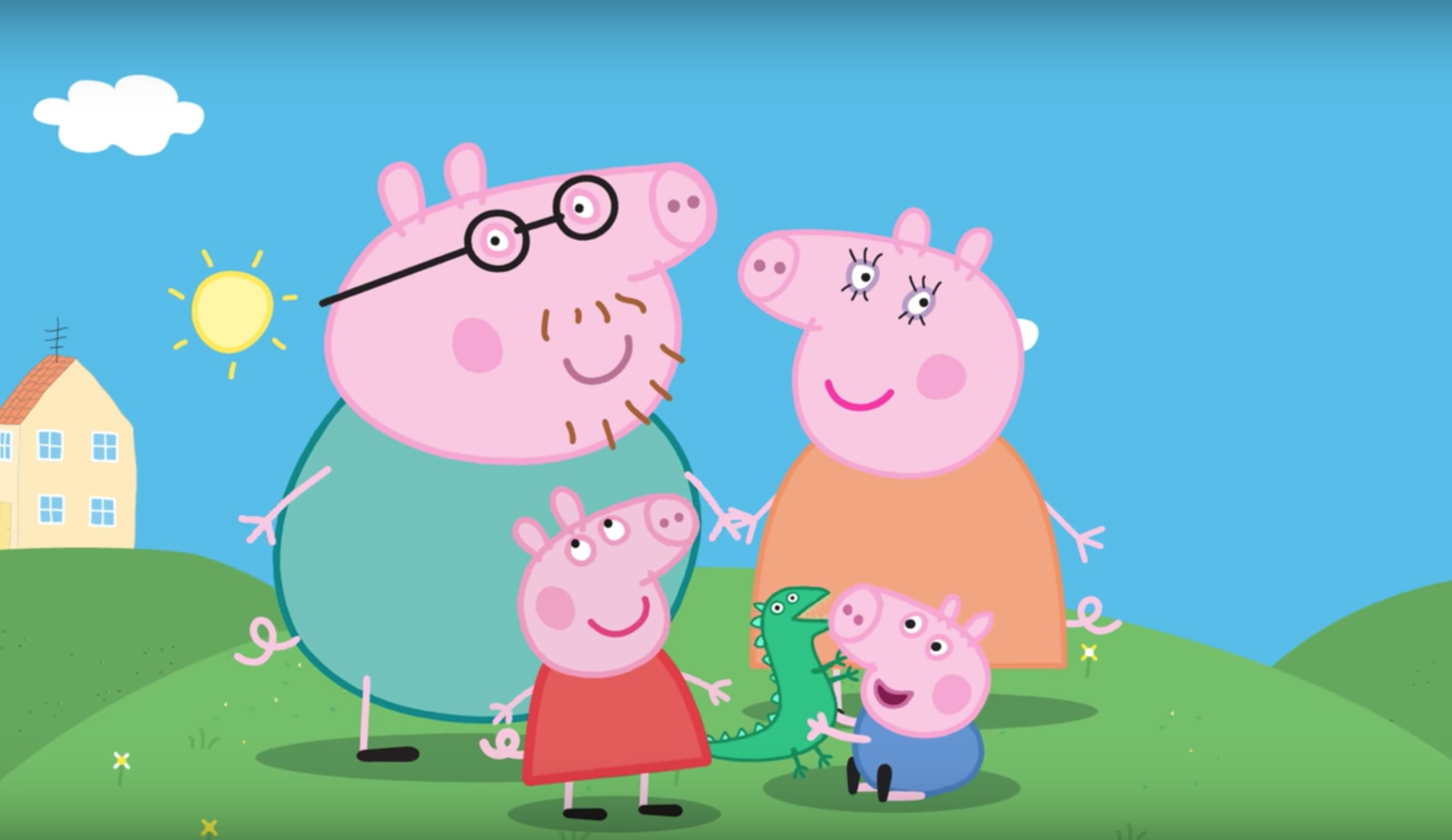 Some even suggest that Peppa is used as a symbol of rebellion and, as a result, has been given the title of a gangster. (Image: YouTube/Screenshot)