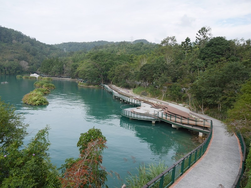 The Shuishe Section of Sun Moon Lake Bikeway. (Image: Courtesy of Sun Moon Lake National Scenic Area Administration)