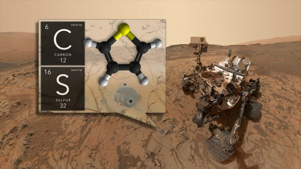 Curiosity has discovered ancient organic molecules in Gale Crater using its SAM instrument. (Credit: NASA's Goddard Space Flight Center)