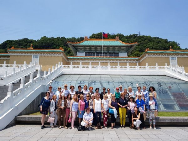 Participants of the EWMD's Learning Journey to Taiwan visits the National Palace Museum in Taipei. (Image: Doreen Hegemann)