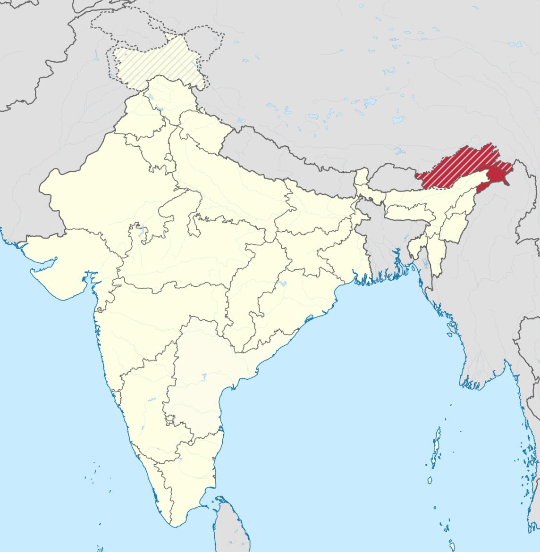 Arunachal Pradesh in India. (Image: tubs via flickr CC BY-SA 3.0)