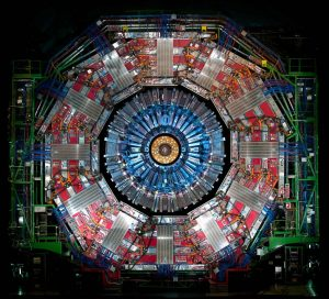 The CMS detector at CERN recently observed a rare type of Higgs boson decay. (Photo: CERN)