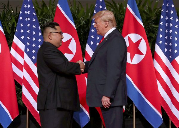 The joint statement Donald Trump and Kim Jong-un signed on June 12 doesn't seem particularly impressive if you take it at face value, but seen in the broader context, its significance cannot be ignored. (Image: YouTube/Screenshot)