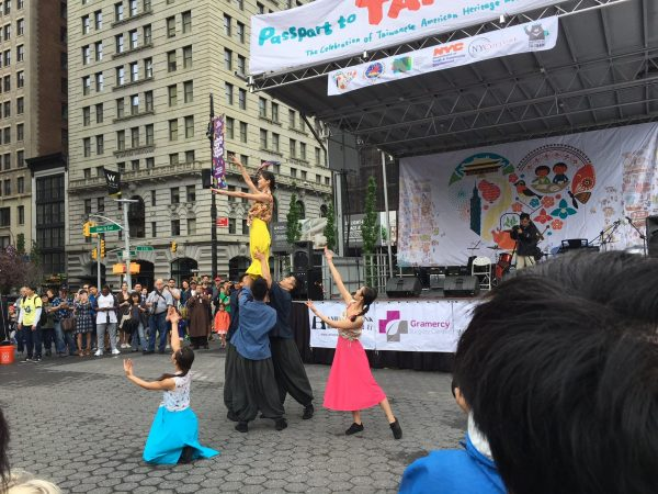 Performers include Taiwanese Americans and artists from Taiwan. (Image: Sam Lim, Vision Times)