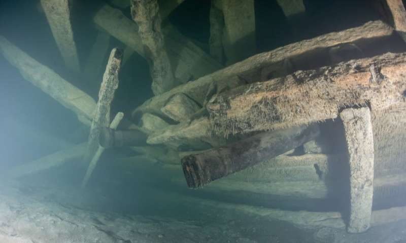 The well-preserved wreck was discovered in 2011. (Photo: Kirill Egorov / Ocean Discovery / Mars Project)
