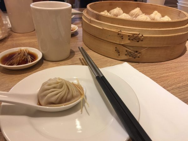 The delicious eight-foldes dumplings in Taipei City. (Image: Doreen Hegemann)