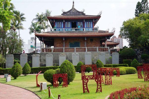 The Fort Provintia with Nice Garden in Tainan. (Image: Antigoni Chrysostomou)