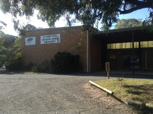 Squash courts for hire at the Kyneton Bushland resort.Image by Trisha Haddock.