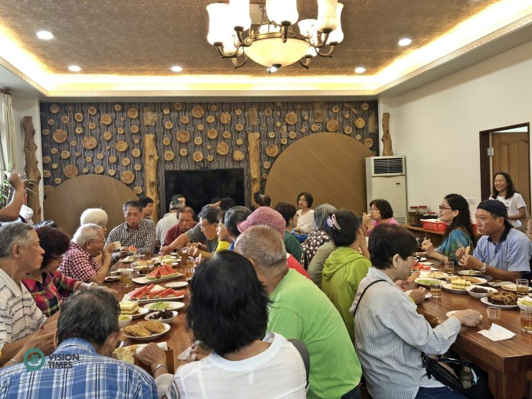 The dining room can accommodate abut 50 people at the same time. (Image: Billy Shyu / Nspirement)