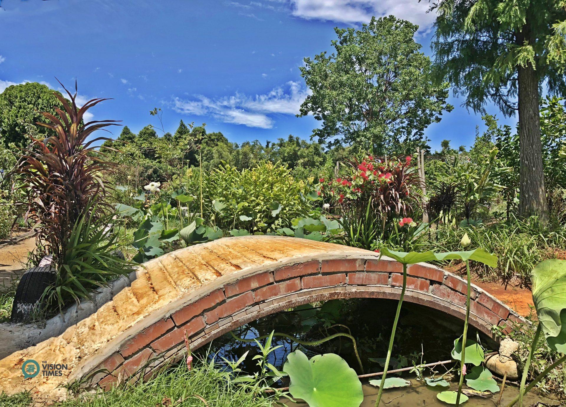 The beautiful garden in Lian He Garden Leisure Farm. (Image: Billy Shyu / Vision Times)
