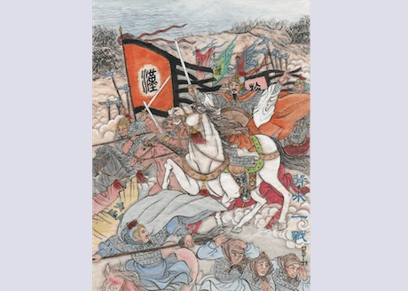 Han Xin singlehandedly conquered northern China, securing the victory of the Han Dynasty. (The Epoch Times)