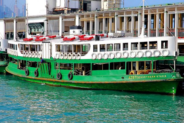 People make use of cheap and convenient public transportation like the Star Ferry. (Image via pixabay / CC0 1.0)